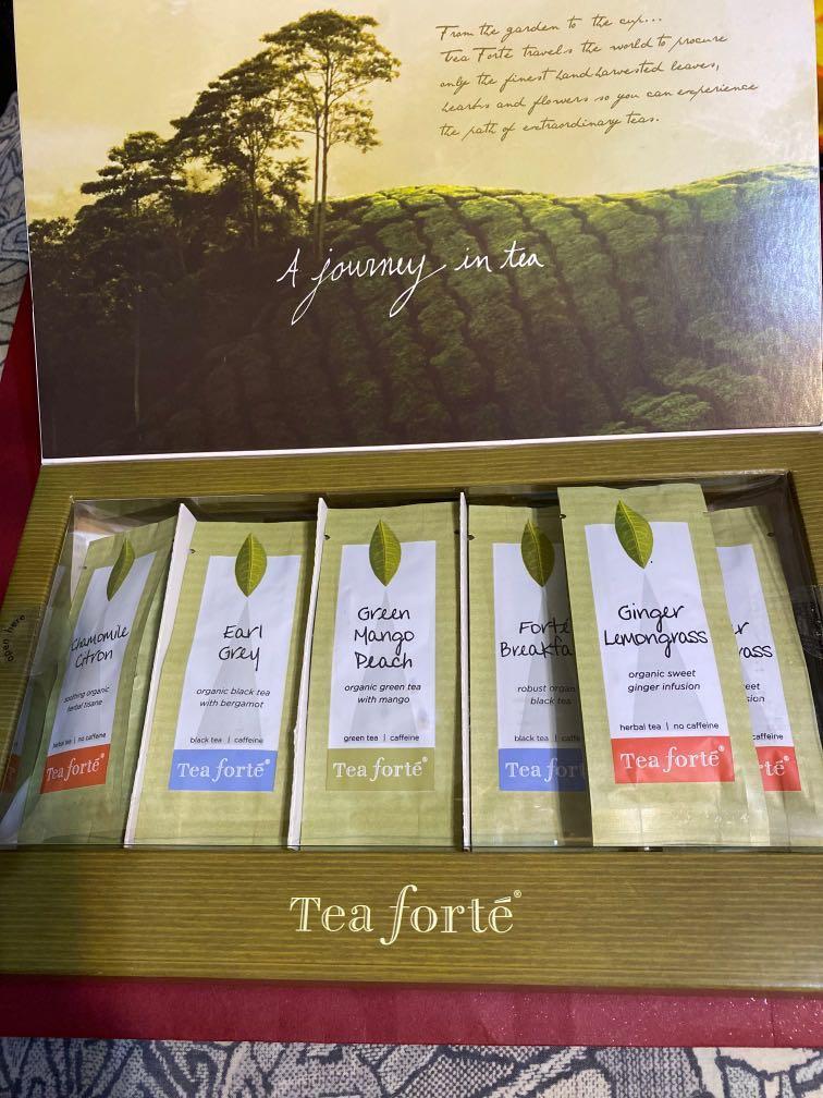 TEA FORTE出口茶葉禮盒