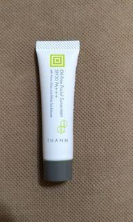 Thann 防曬 oil-free facial sunscreen spf30 pa+++ 試用裝 旅行裝 sample