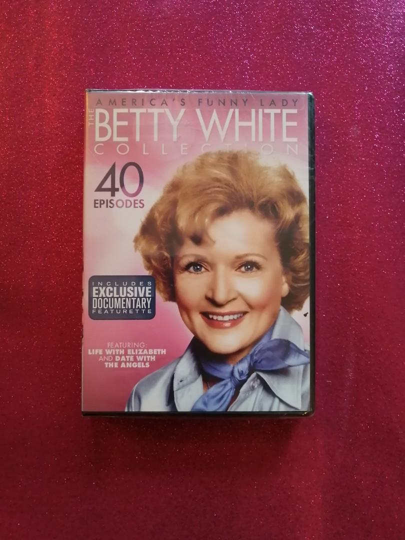 The Betty White Collection (4 disc set)