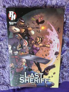 The last sherif comic book