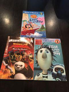 Three random children's books