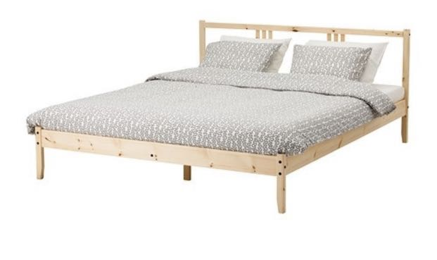 Used Ikea Fjellse Bed Frame Set For Sale Furniture Beds Mattresses On Carousell