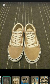 Vans奶茶鞋