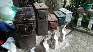 Vintage Ammo or Ammunition  Cans