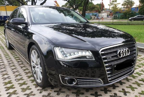 Wedding Car Rental! Audi A8L
