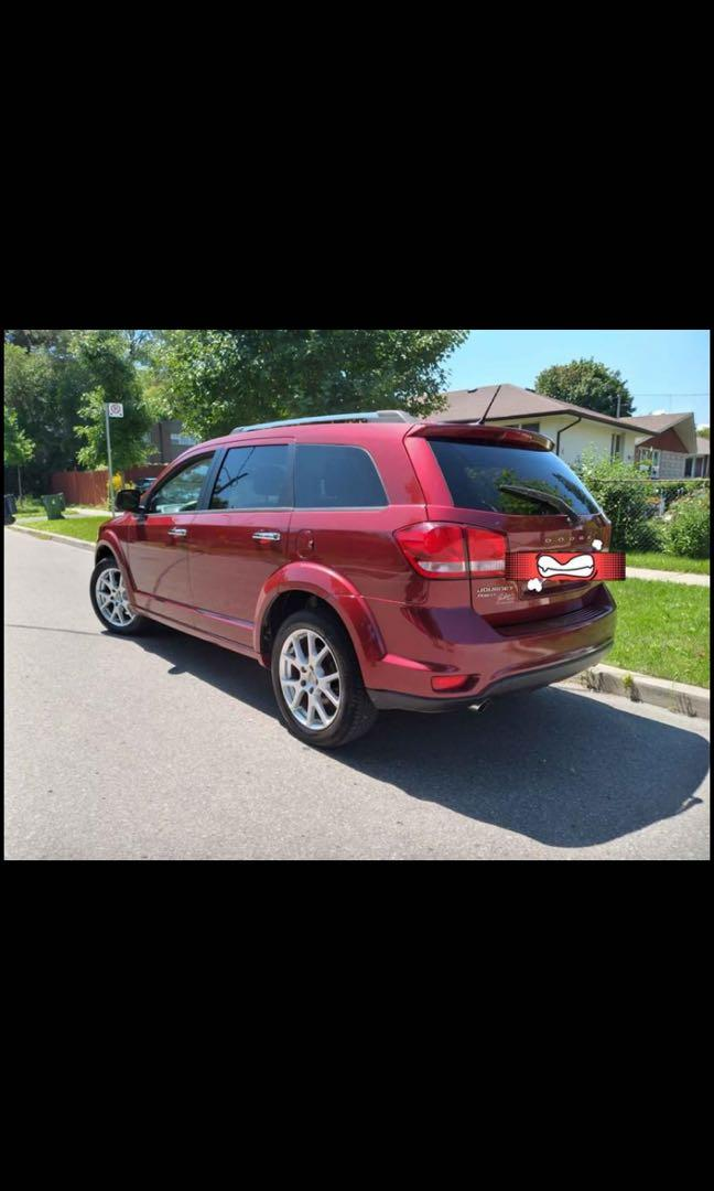 2011 Dodge Journey R/T AWD Fully Loaded !!!