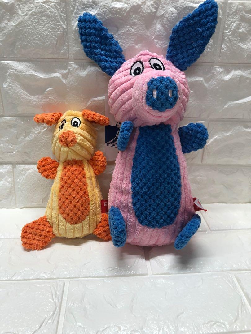 [🔥一組特價350🔥]發聲玩具 布玩具 絨布 隔條絨 毛絨 耐咬 狗玩具 貓玩具 寵物玩具