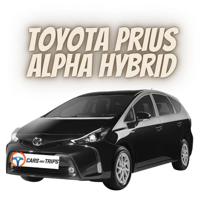 7 seater Prius Alpha Hybrid