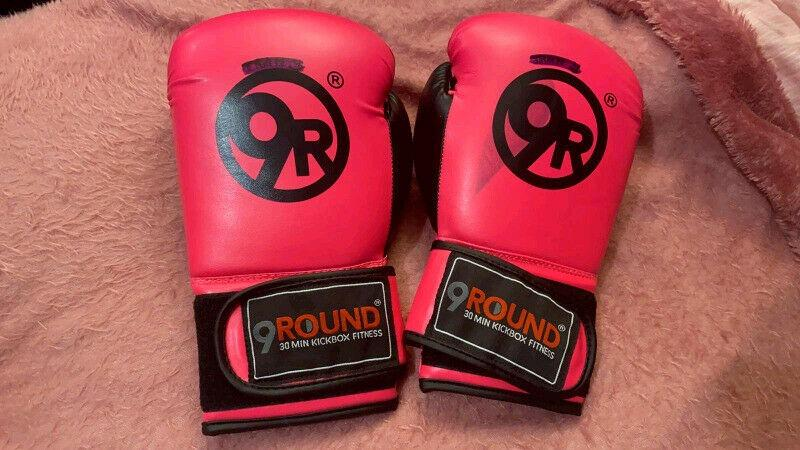9Round Women's Pink Boxing Gloves