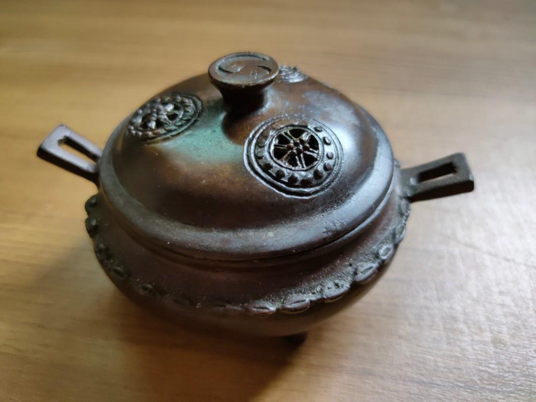 乾隆年制款香薰銅爐