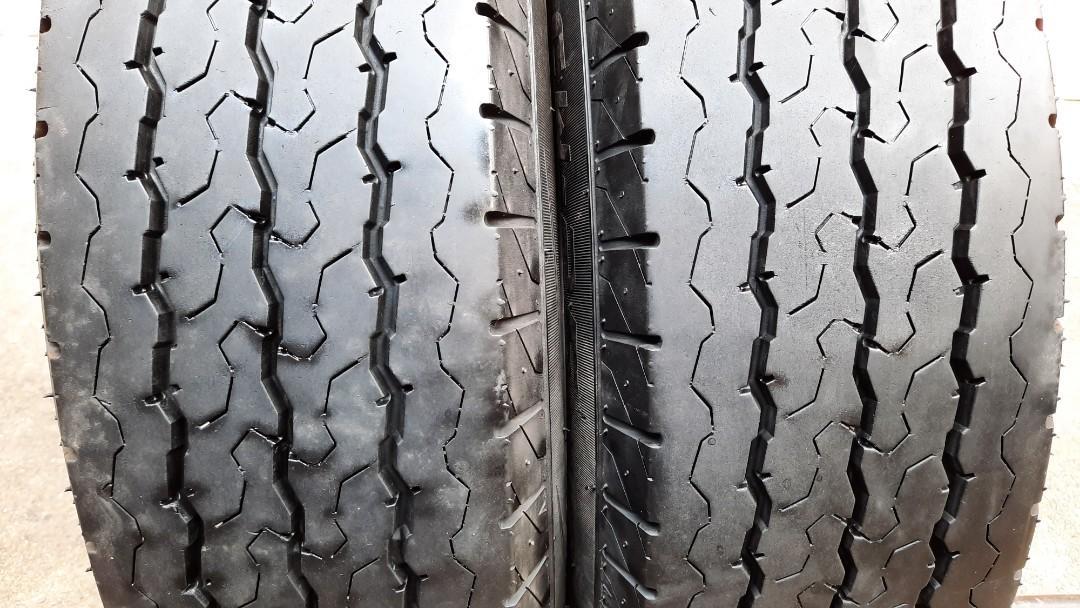彰化員林 中古輪胎 二手輪胎 落地胎 195 75 16C 貨車胎 堅達 實體店面免費安裝