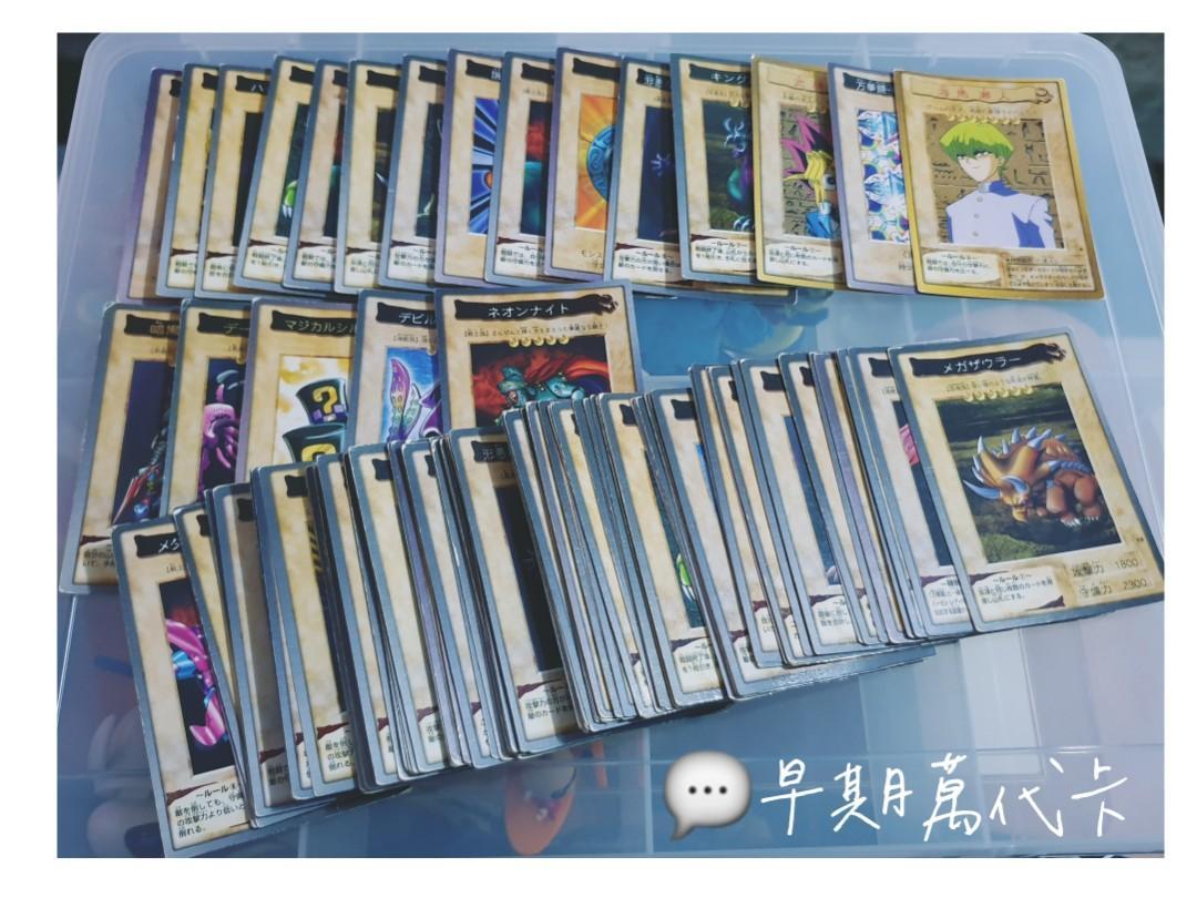 日本🇯🇵 遊戲王 Yu-Gi-Oh 早期萬代卡 絕版 稀有 / ☠ 詳請 請看商品介紹,一包 10 張!🤘