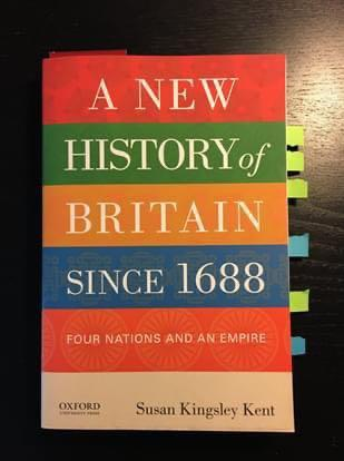 A New History of Britain since 1688: Four Nations and an Empire - Susan Kingsley Kent