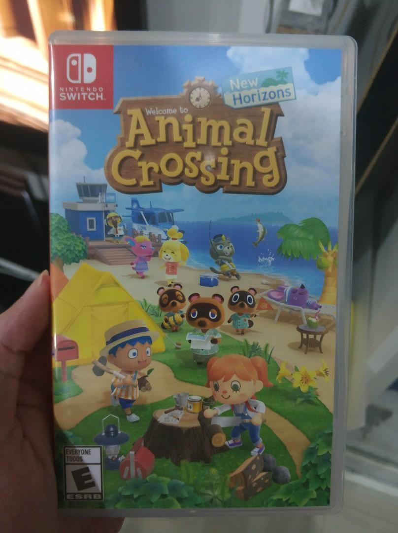 Animal crossing new horizon physical copy second VER.asia (MDE.SEA)