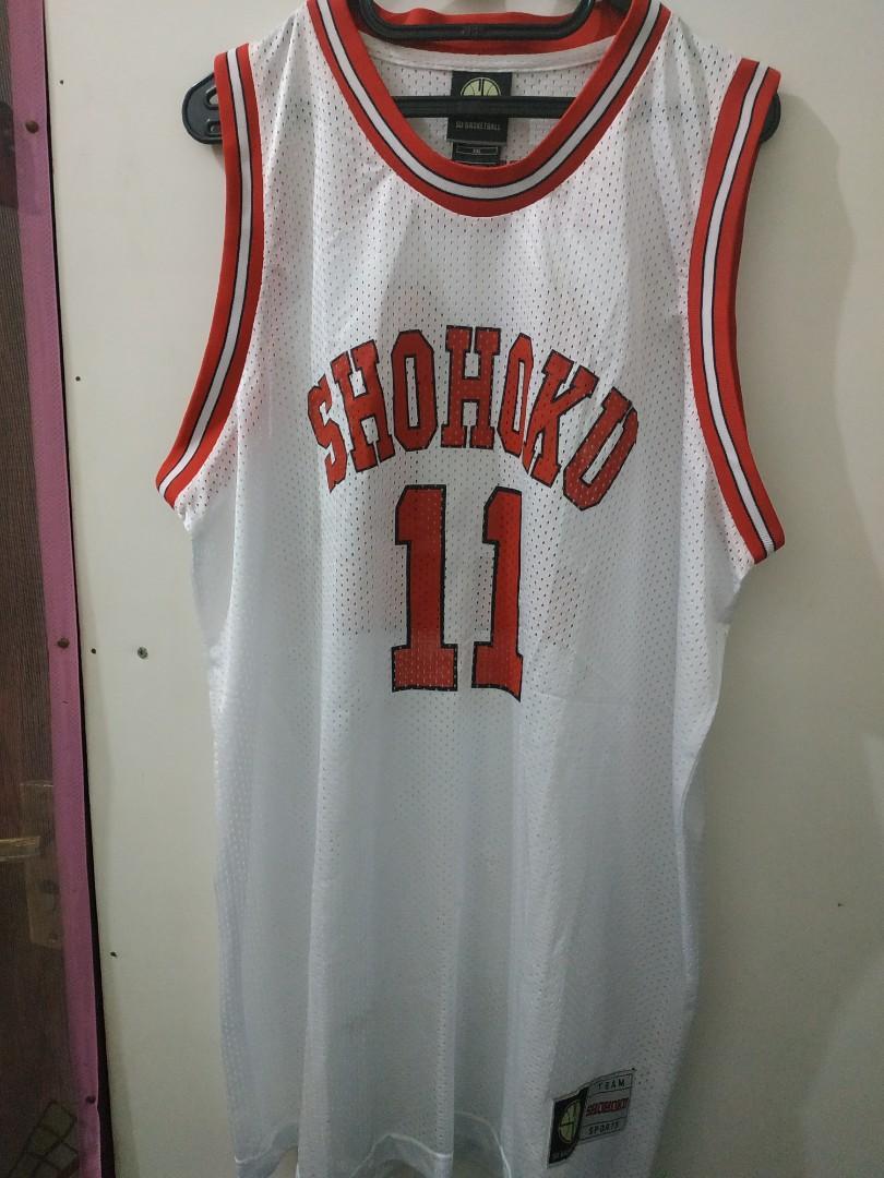 Baju Basket Shohoku ori