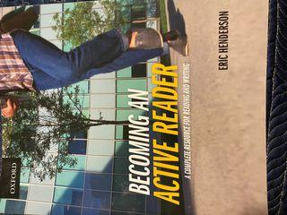 Becoming an Active Reader by Eric Henderson