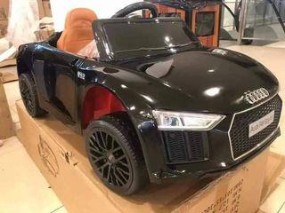 Black Audi R8 Spyder Rechargeable Ride On Car