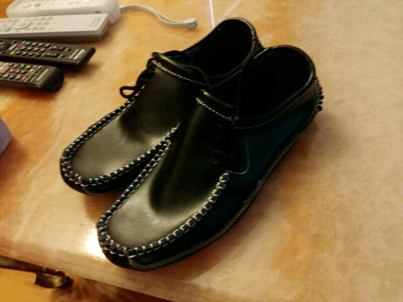 Black Casual Slip On Loafers