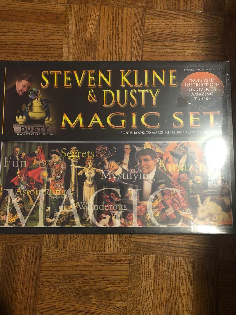 BNIB Steve and Dusty Magic Kit