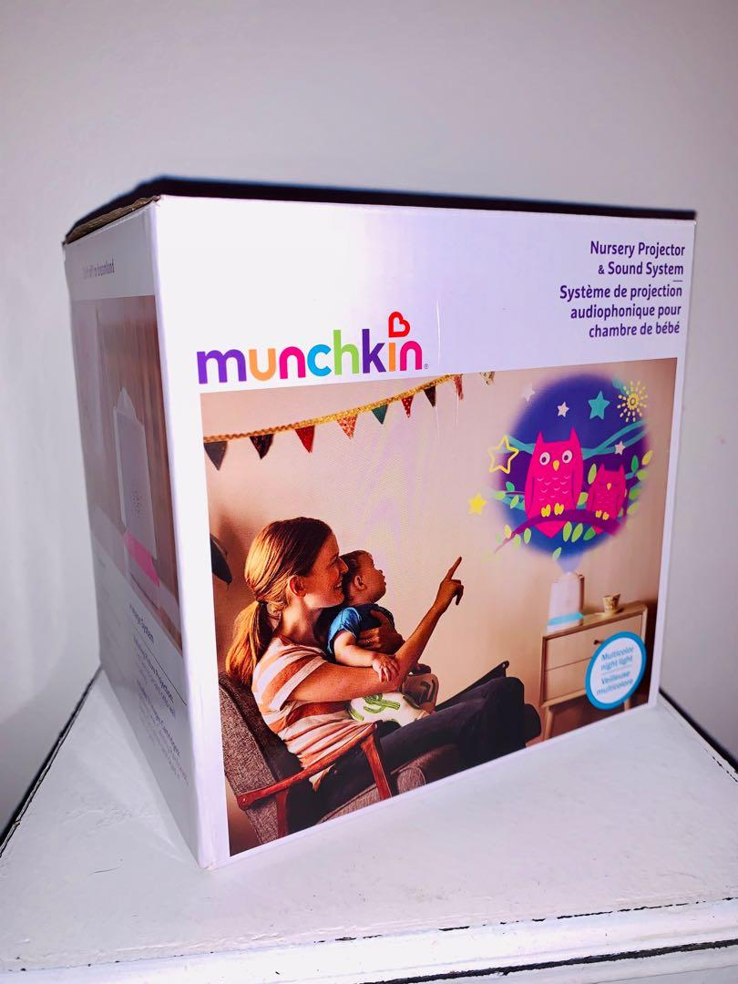 Brand new munchkin nursery projector & sound system