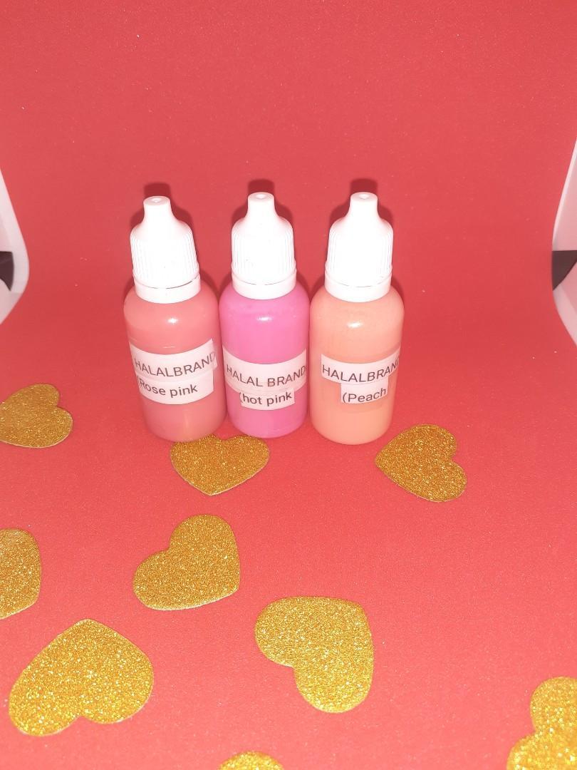 Bubblegum liquid pigment collection