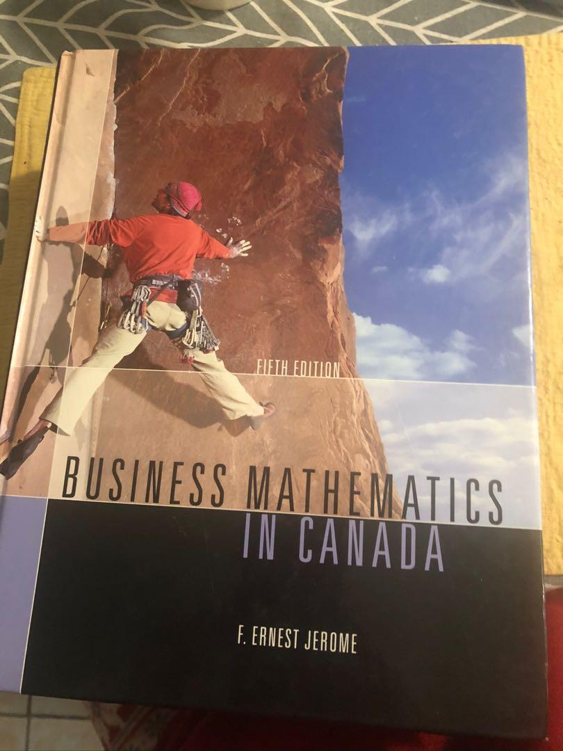 Business mathematics 5th edition