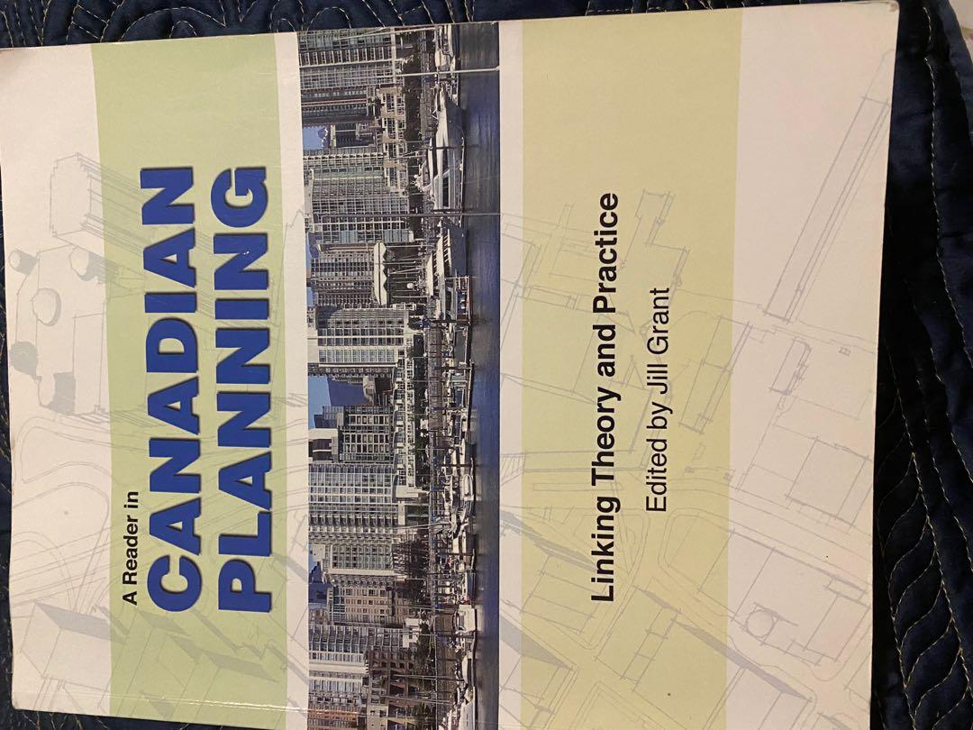 Canadian Planning by Jill Grant
