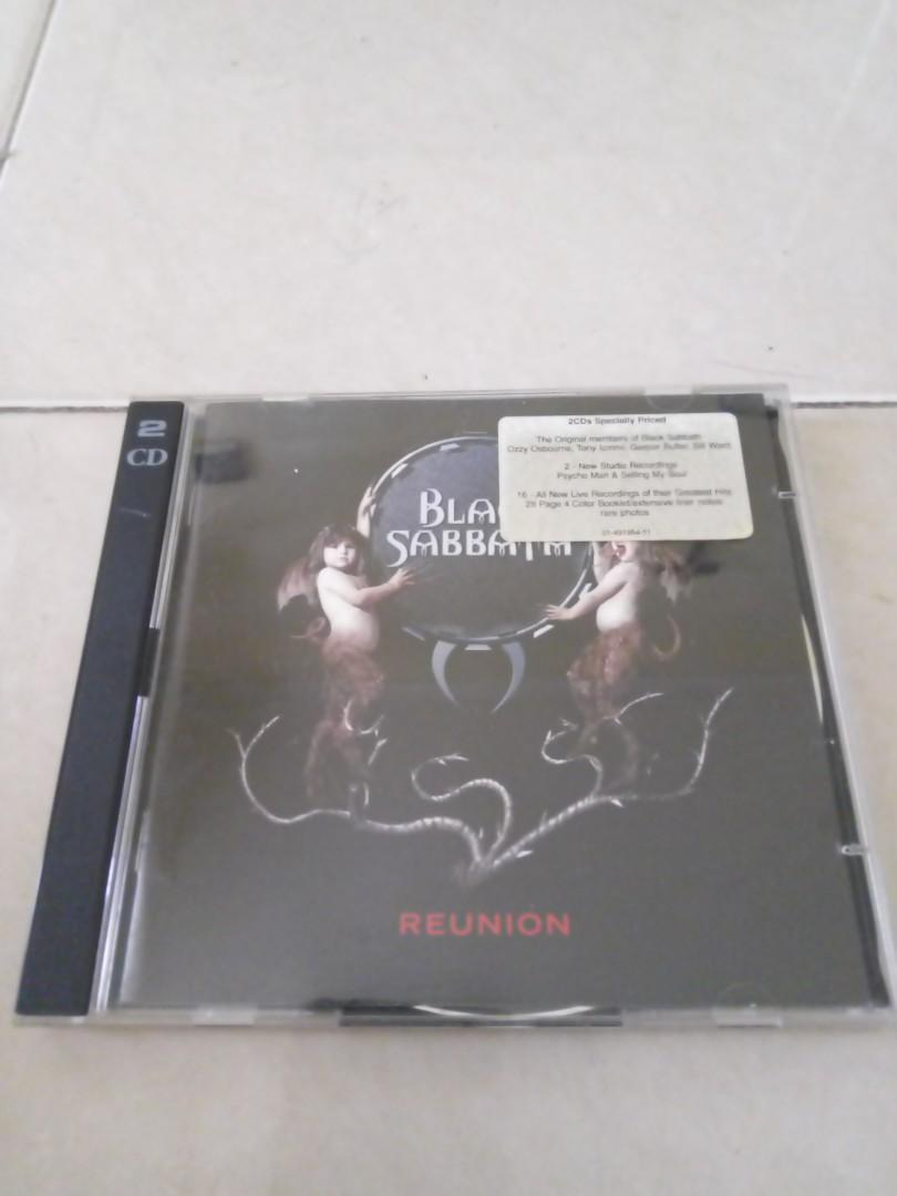 CD Audio Black Sabbath