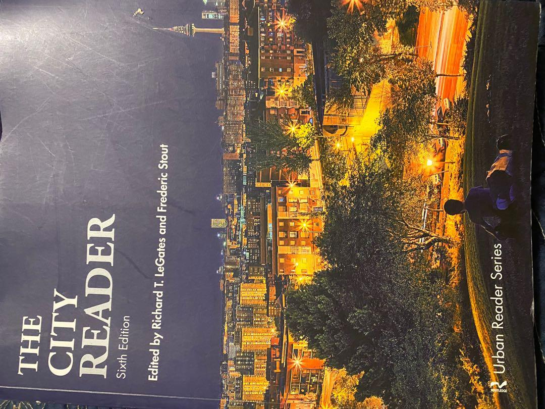City Reader edited by Richard LeGates and Frederic Stout