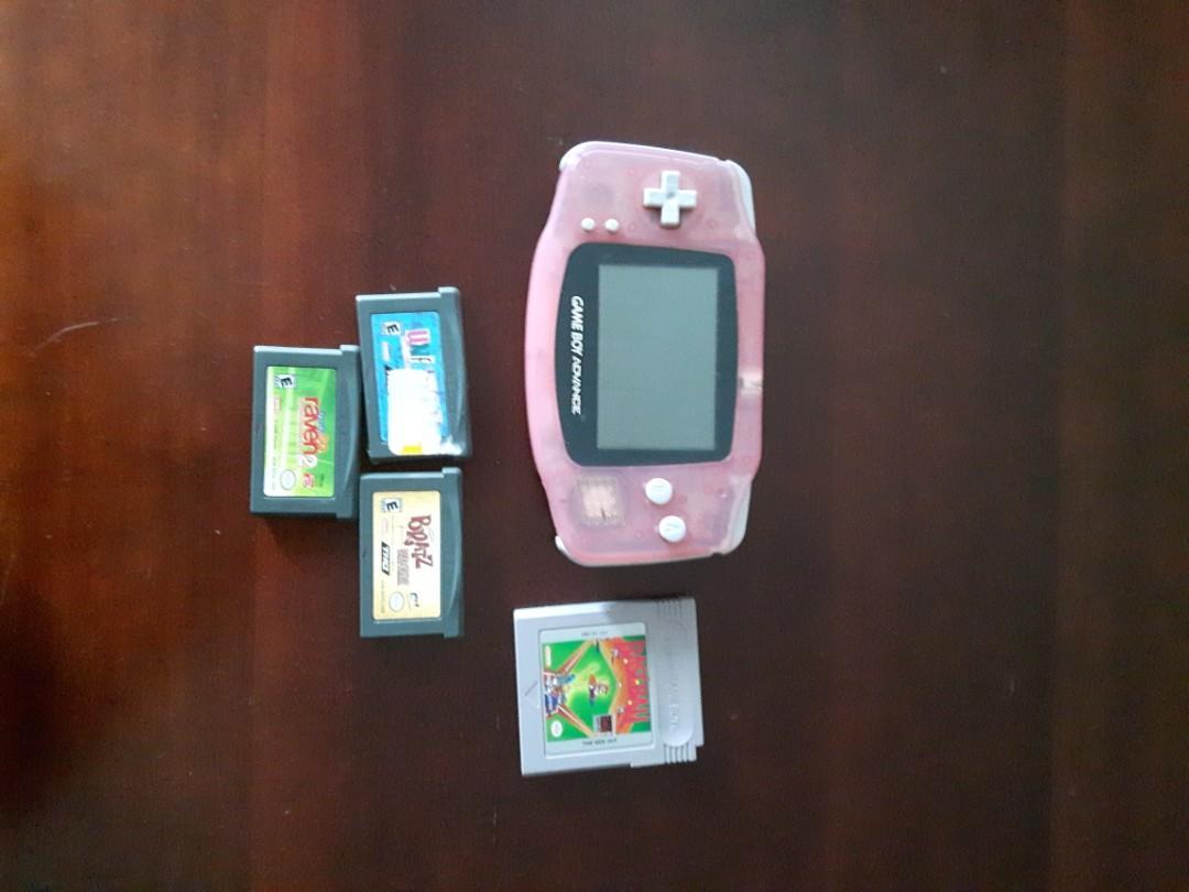 Game Boy advance plus 3 games