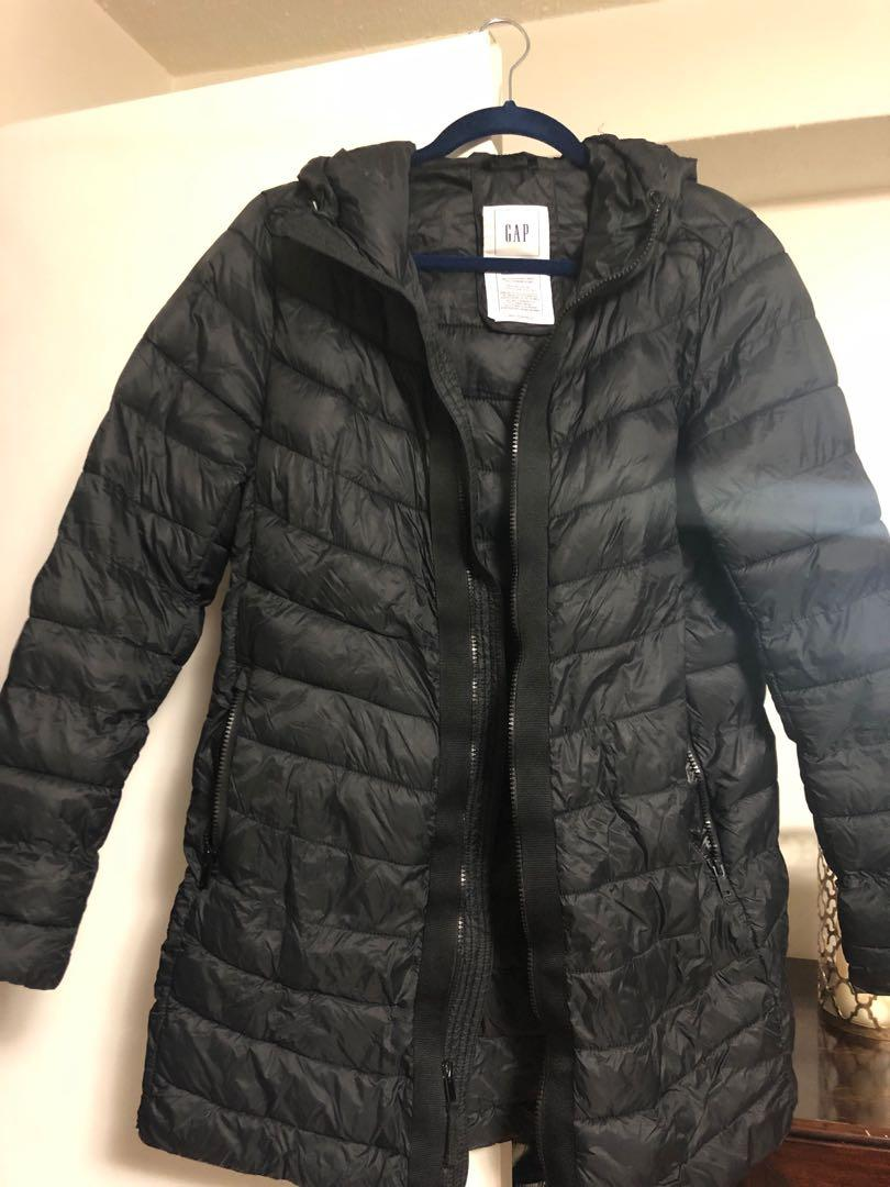 Gap cold control puffer jacket.