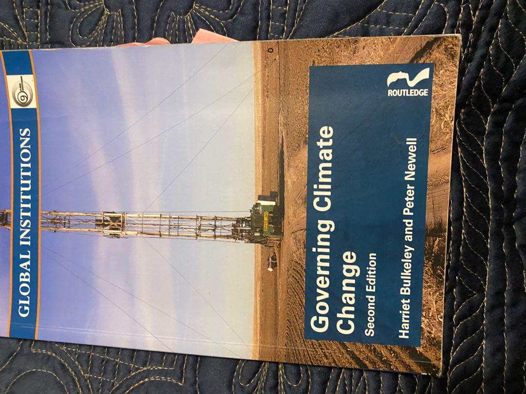Governing Climate Change by Harriet Buckeley and Peter Newell