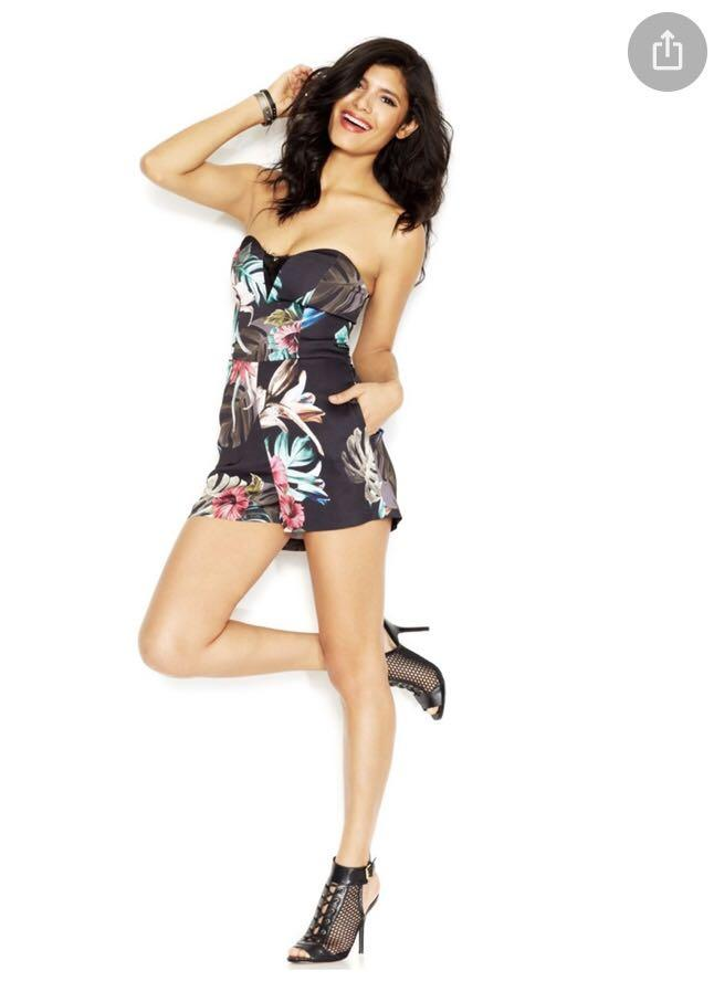 Guess flowered romper, size 28