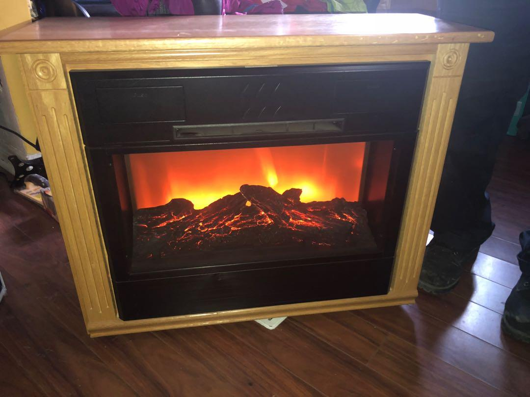 Heat Surge X5C Movable Heater Electric Fireplace