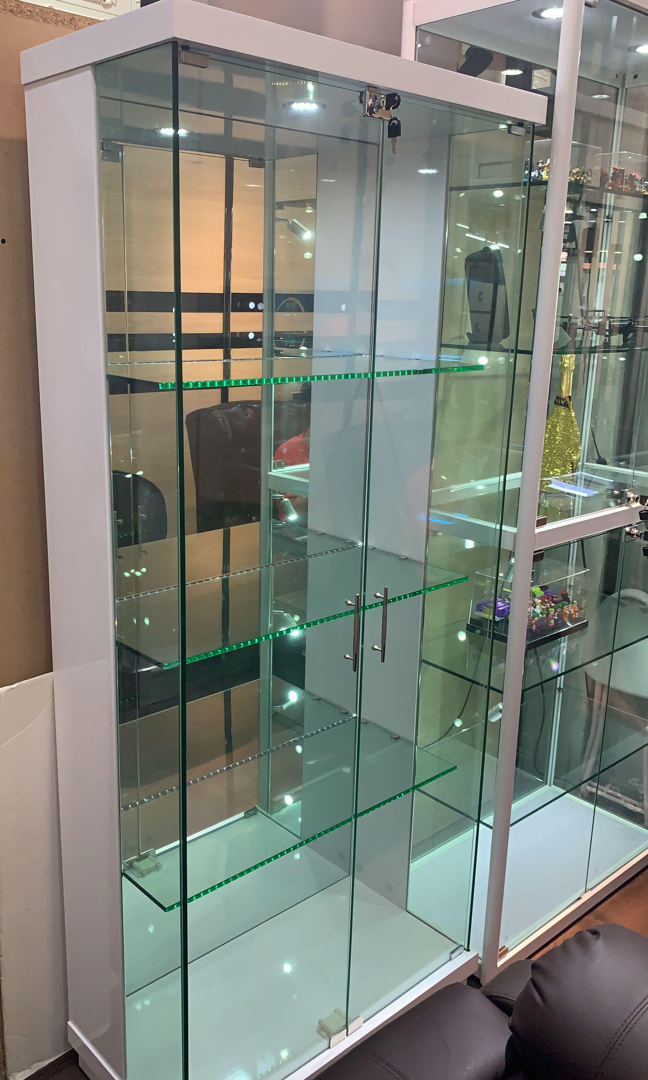 Helmet Glass Display Cabinet, Furniture & Home Living, Furniture ...