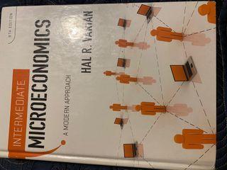 Intermediate Microeconomics by Hal R. Varian