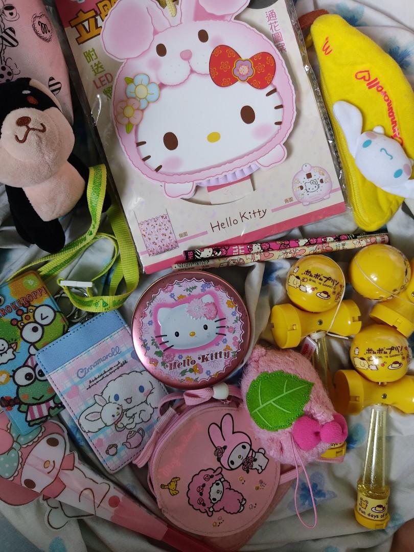 Kawaii Sanrio Items O Kerokeroppi Cinnamoroll My Melody Pompompurin Hello Kitty Toys Games Others On Carousell