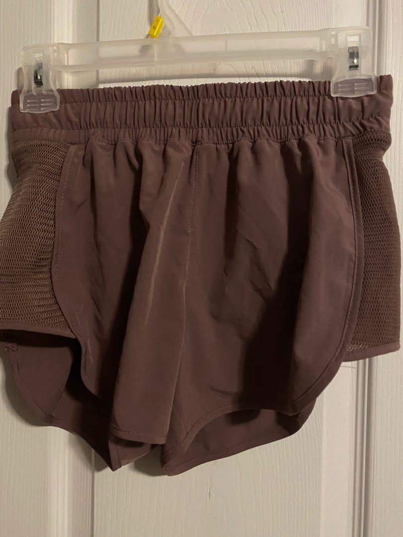 Lavender Running Shorts (size x- small)