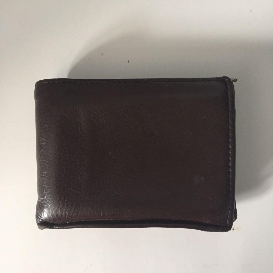 Men's Genuine Brown Leather Wallet