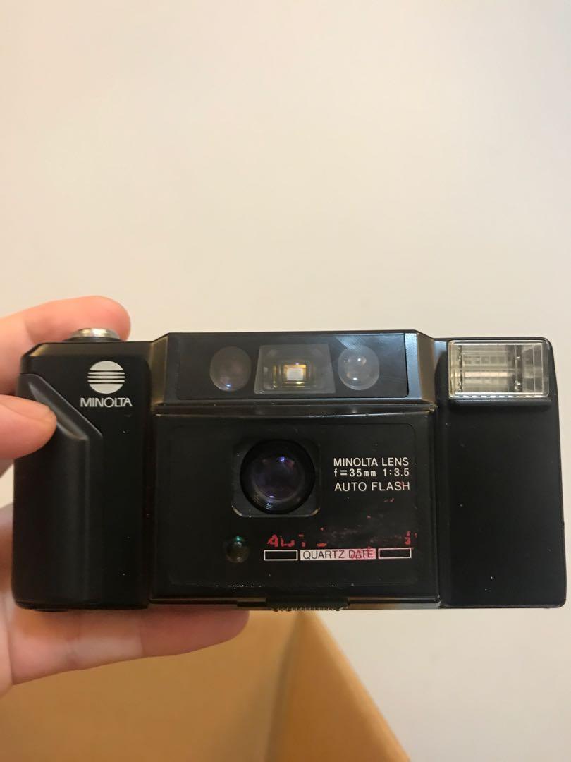 Minolta AF-E 底片 35mm F3.5 AUTO FLASH 好壞不知