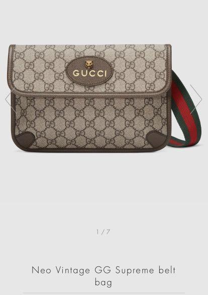 Neo Gucci Belt Bag