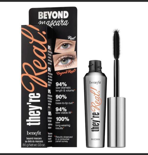 New Benefit They're Real Mascara