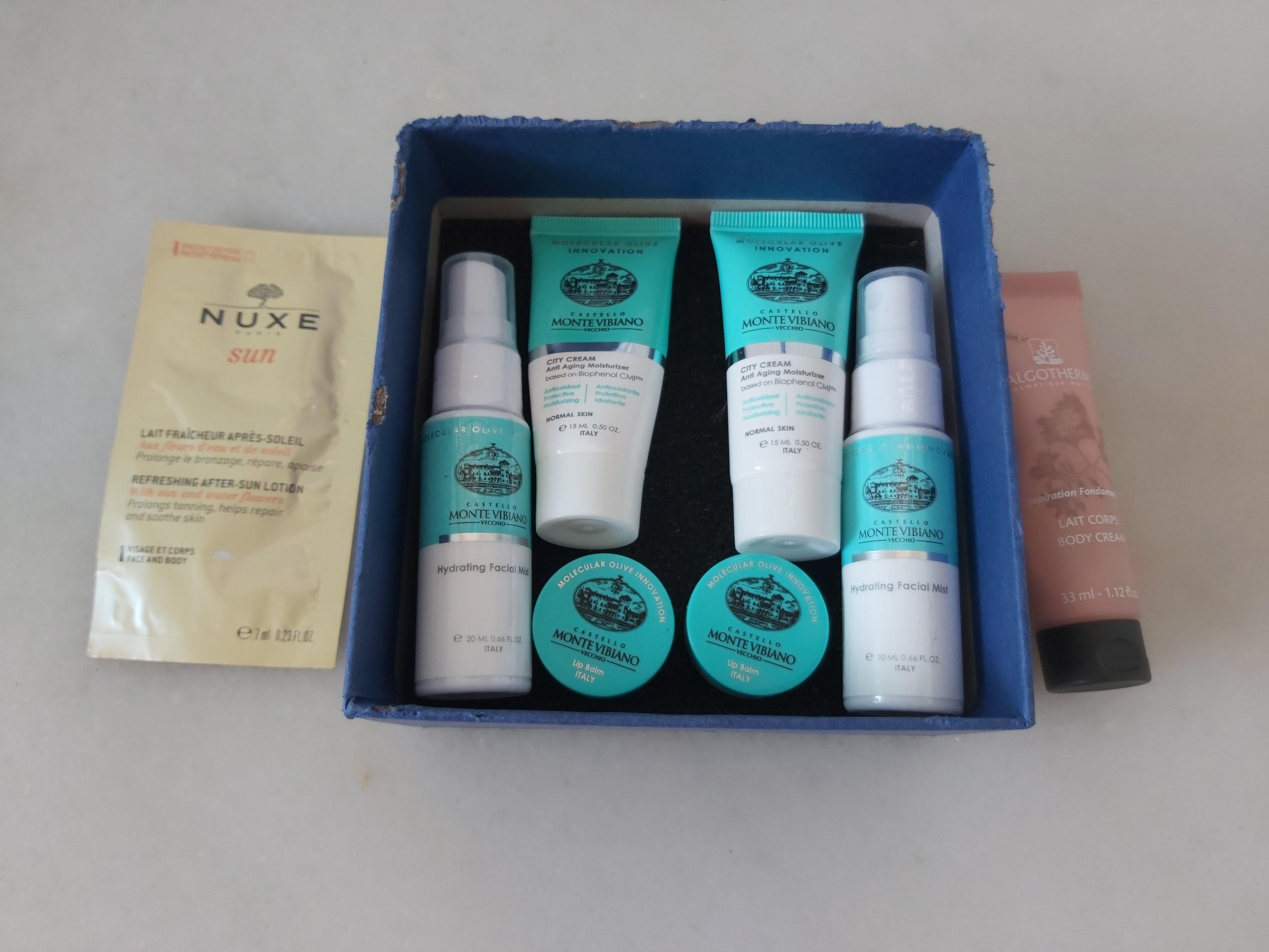 New Luxury European Skincare Gift Set Italian Monte Vibiano 6 2 Pc Gift Set Nuxe Algotherme Health Beauty Face Skin Care On Carousell
