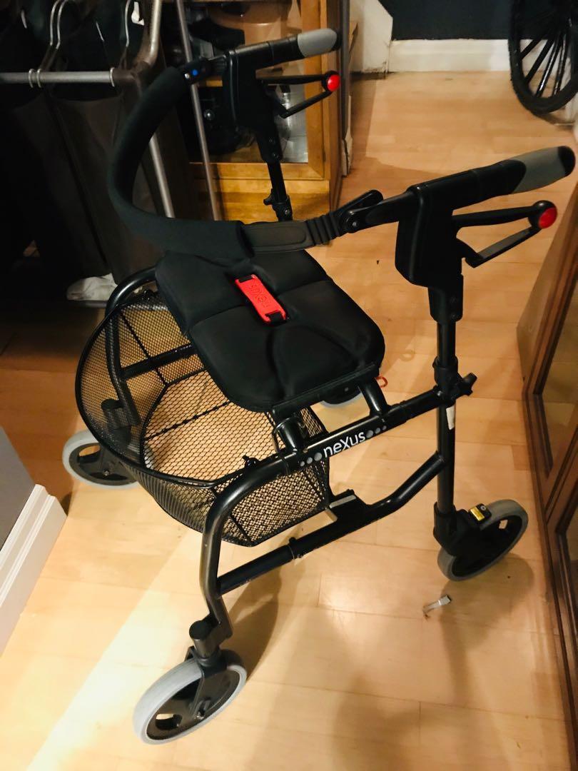 Nexus 3 walker with basket