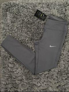 Nike Grey Mesh Leggings SZ S