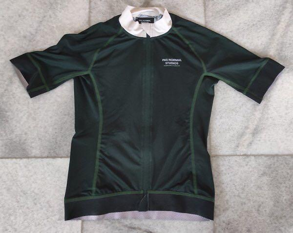 Pas Normal Studio Cycling Jersey Dark Green