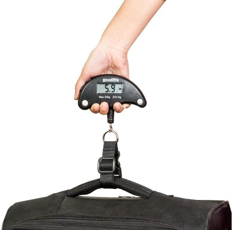 Portable Digital Luggage Weighing Scale (75lb/34kg)