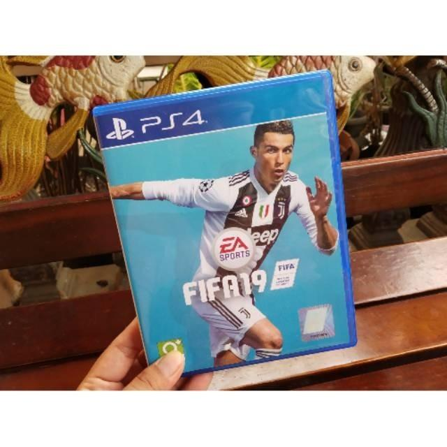 PRELOVED KASET PS4 FIFA 2019 ORIGINAL