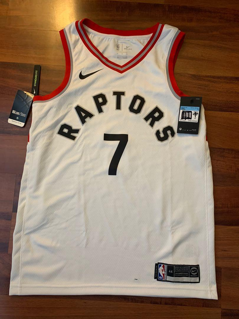 Raptors Basketball Jersey - Authentic with tags