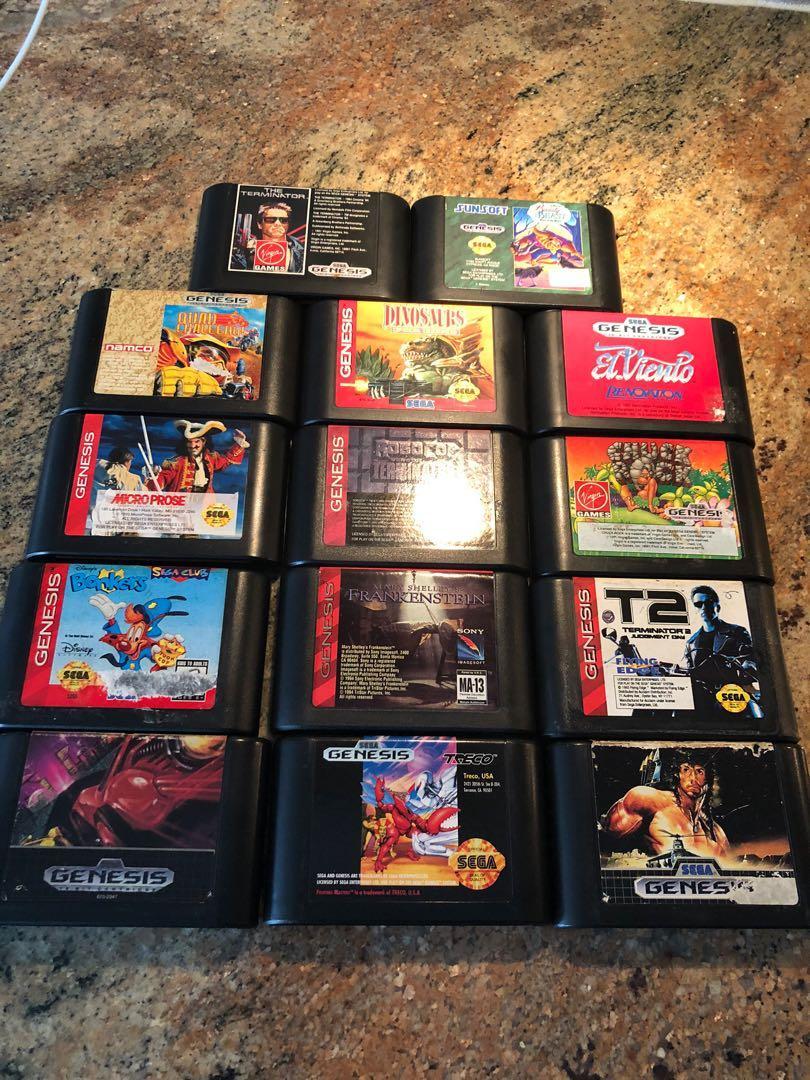 Rare Sega Genesis Lot of 14 Games